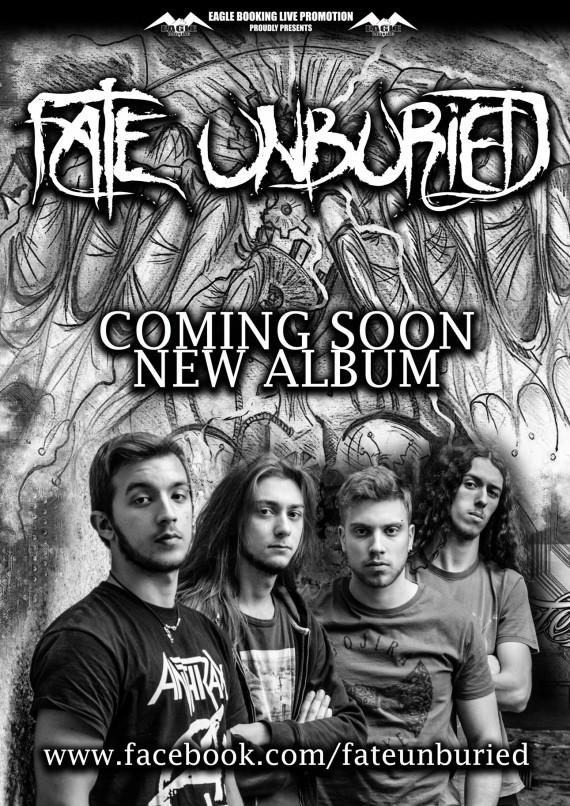Fate Unburied - band - promo 2016