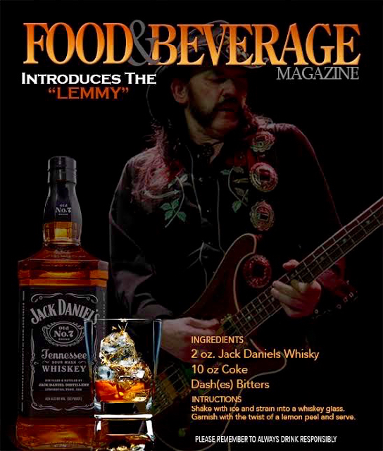 MOTORHEAD - The Lemmy-Food & Beverage