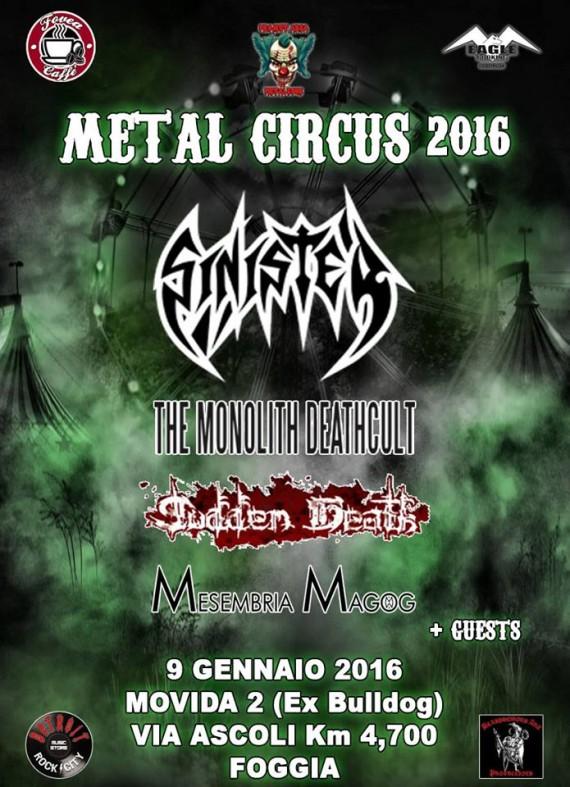 Metal Circus - festival - 2016