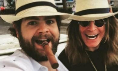 Ozzy Osbourne e Jack Osbourne - Cuba - 2016