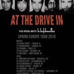 at the drive in - tour europeo - 2016