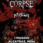 cannibal corpse - locandina milano - 2016