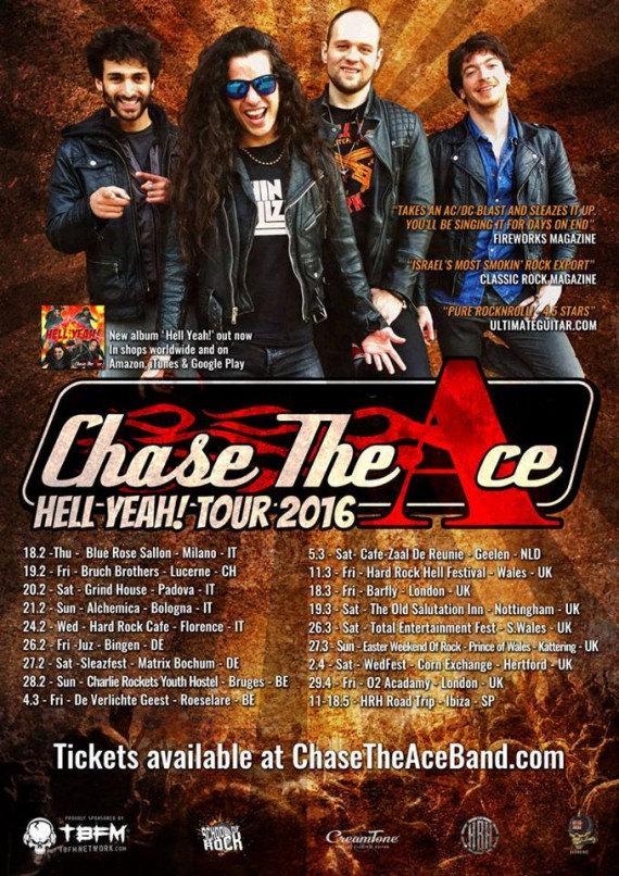 chase the ace - date italia - 2016