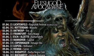 ensiferum fleshgod apocalypse - tour 2016