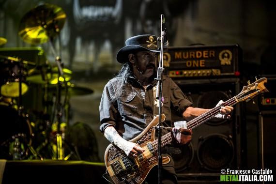 motorhead - lemmy live milano - 2014