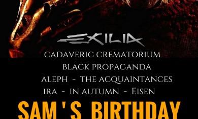 sam birthday - 2016