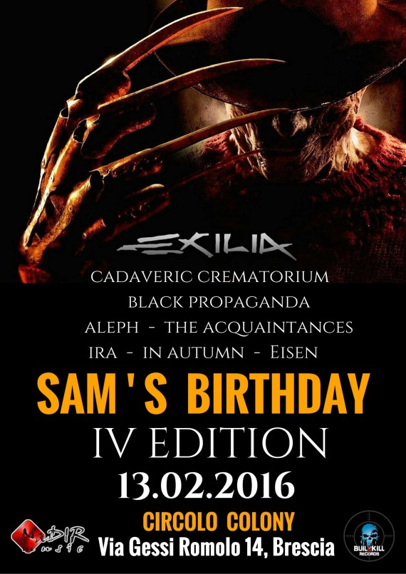 sam birthday - 2016