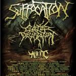 suffocation cattle decapitation - tour 2016
