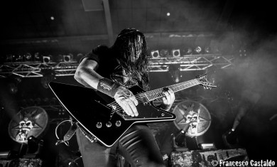 Testament - Eric Peterson live Metalitalia.com Festival 2015