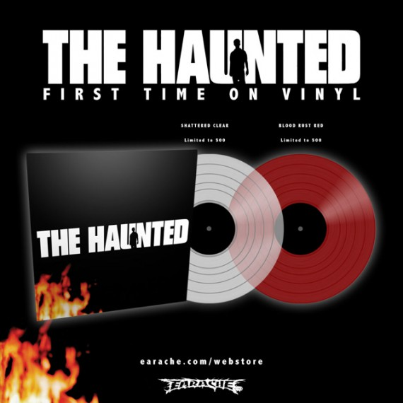 the haunted - debut vinile 2016