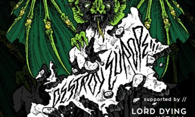 Cancer Bats - locandina concerto Lo-Fi - 2016