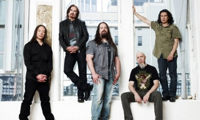 Dream Theater - band - 2016