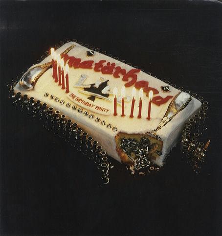 MOTORHEAD - Birthday Party 1985 - cd cover