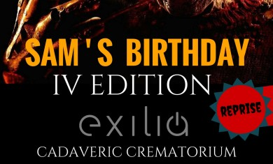 Sam's Birthday - locandina - 2016