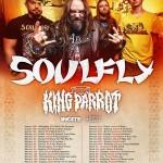 Soulfly-King-Parrot-Incite- tour - 2016