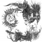 Nasty Monroe Details of a violence vinyl cover originale