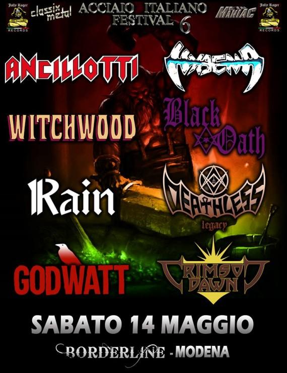 acciaio italiano festival 6 -  2016