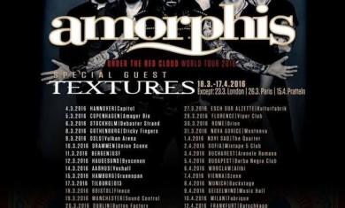 amorphis textures - european tour - 2016