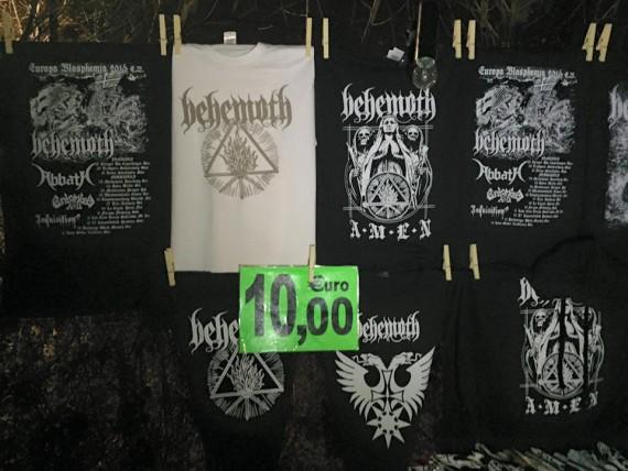 behemoth - maglie contraffatte - 2016