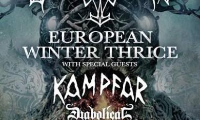 borknagar - tour europeo - 2016