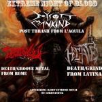 EXTREME NIGHT OF BLOOD: con BOYCOTT MANKIND e altri a Roma