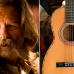 "Kurt Russel distrugge una chitarra Martin del 1870 sul set di ""The Hateful Eight"""