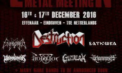 eindhoven metal meeting 2016 - primo annuncio