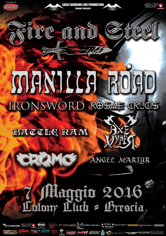 fire and steel fest 2016 - locandina