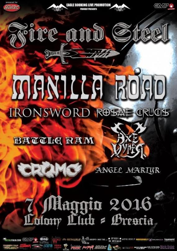 fire & steel locandina 2016
