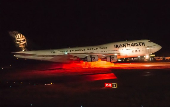 iron maiden - ed force one 1 - 2016