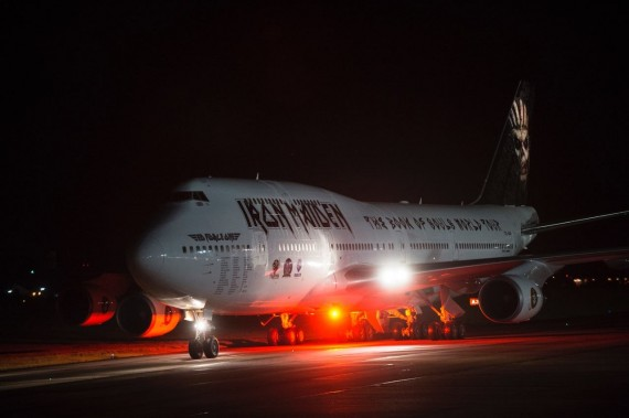iron maiden - ed force one 2 - 2016