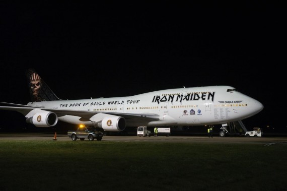 iron maiden - ed force one 3 - 2016