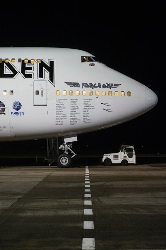 iron maiden - ed force one 4 - 2016