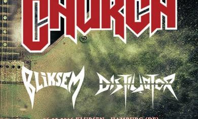 metal church - european tour - 2016