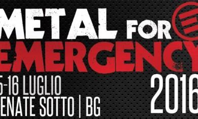 metal for emergency 2016