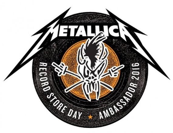 metallica - ambasciatori record store day - 2016