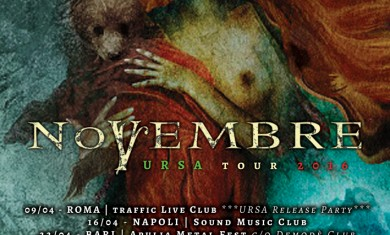 novembre - locandina tour italia - 2016
