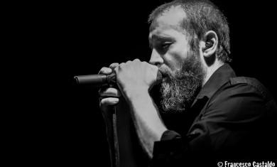 Paradise Lost - Nick Holmes live Trezzo sull'Adda - 2015