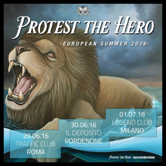 protest the hero - date italia - 2016