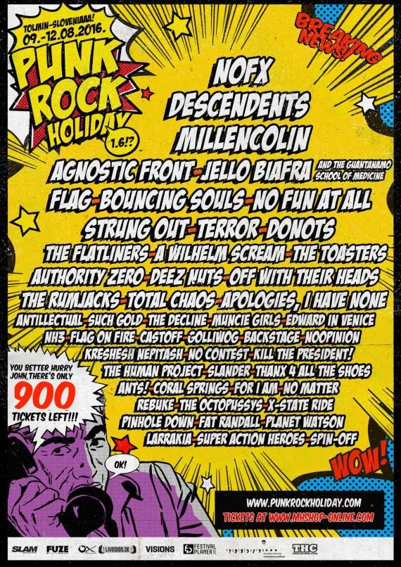 punk rock holiday 2016