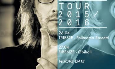 steven wilson - locandina tour italia - 2016
