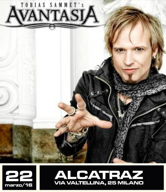 Avantasia - locandina milano 2016