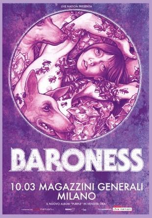 BARONESS - live Magazzini Generali - 2016