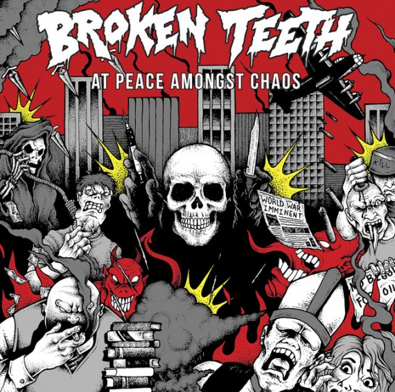BROKEN TEETH - At Peace Amongst Chaos - 2016