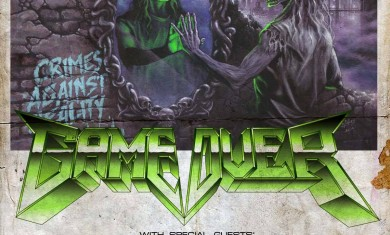 Game Over - release party - locandina - 2016