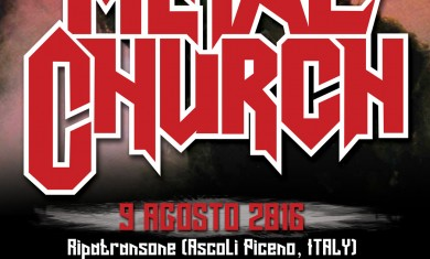 Metal Church - date italia - 2016