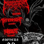 Pestilential Winds - Flyer - 2016