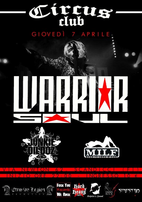 Warrior Soul - Circus Club 2016