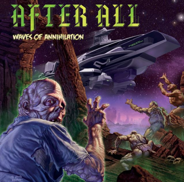 after all - Waves Of Annihilation - copertina - 2016