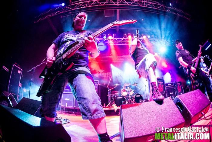 artillery - live metalitalia festival 2013